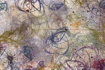 Fragmentatie in kleur van Rietje Bulthuis