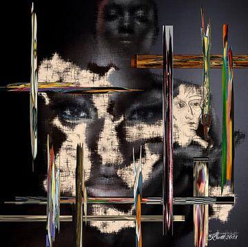 Kunst im Angesicht  van Dirk Kiwitt