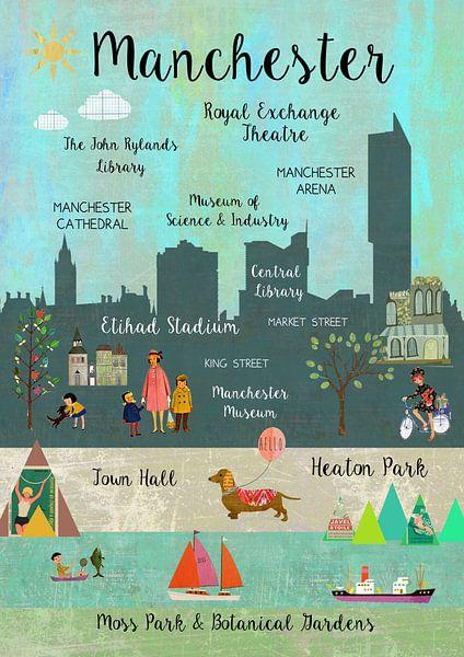 Manchester von Green Nest