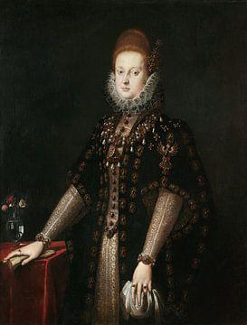 Porträt von Margherita Gonzaga, Jacopo Ligozzi