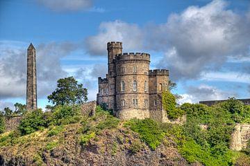 Calton Hill in Edinburgh sur