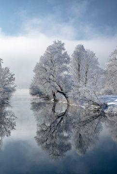 Mystischer Wintermorgen in Bayern von Achim Thomae