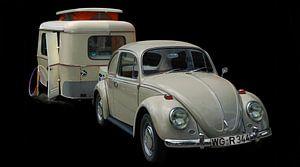 VW 1300 met Eriba Familia caravan