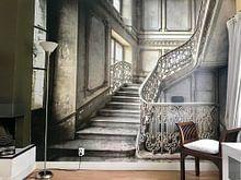 Kundenfoto: Treppe in einem Schloss von Olivier Photography, auf fototapete
