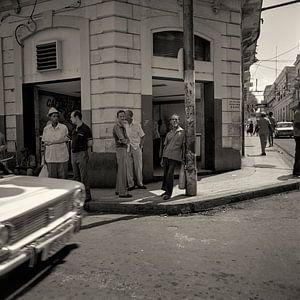 Streetcorner in Cuba