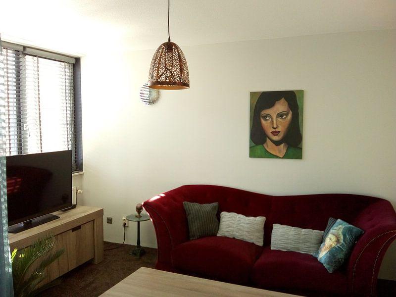 Kundenfoto: SimplyBeauty (EinfachSchön) von Lucienne van Leijen, auf leinwand