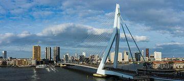 De Erasmusbrug (panorama) van Michael Echteld