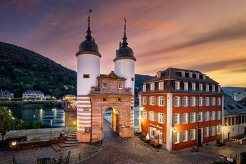 Sonnenaufgang in Heidelberg von Michael Abid