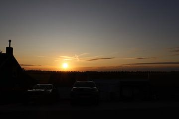 De zonsondergang van Angelie Montijn