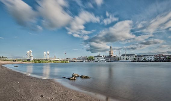 Skyline van Kampen aan de IJssel