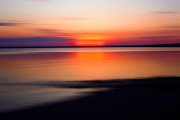 Avond aan het meer van Thomas Jäger