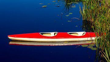 kano met reflectie van Corrie Ruijer