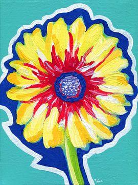 Geschützte Blume von ART Eva Maria