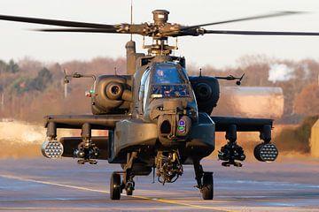 Face-to-Face mit einem Apache-Kampfhubschrauber! von Jimmy van Drunen