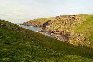 Falaises de Stoer Head en Écosse .