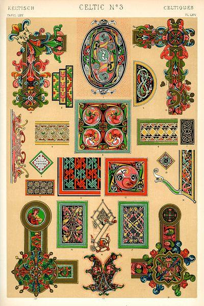 Owen Jones' berühmtes Werk Die Grammatik des Ornaments aus dem 19. Jahrhundert von 1000 Schilderijen
