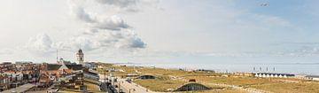 Katwijk zee zicht van Arjan van Duijvenboden