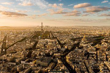 Zonsondergang Parijs - Uitzicht Tour Montparnasse - 4 van