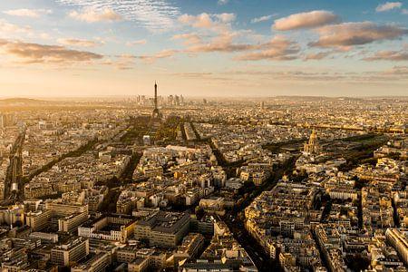 Zonsondergang Parijs - Uitzicht Tour Montparnasse - 4