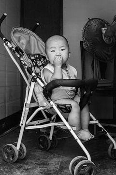 chinesisches Kleinkind von Celine Dhont