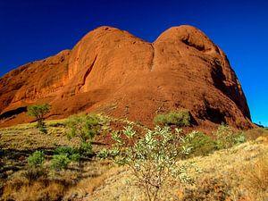 Indrukwekkende rotsen in het nationaal park Kata Tjuta, Australië