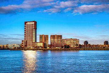 HDR Rotterdam skyline von W J Kok