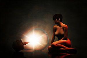 Naakt met licht