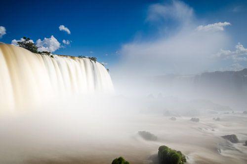 De watervallen van Iguazu van