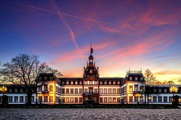 Historisches Gebäude schloss philippsruhe Hanau von Fotos by Jan Wehnert