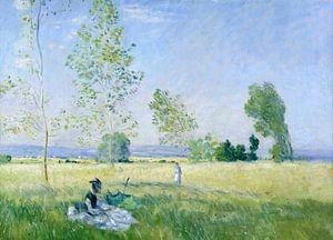 Sommer (Wiese in Bezons), Claude Monet