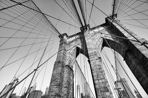 Brooklyn bridge en One World Trade Center