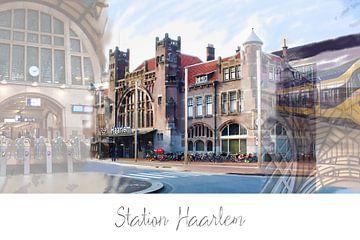 Haarlem,Neterlands print MDJO van MD JO