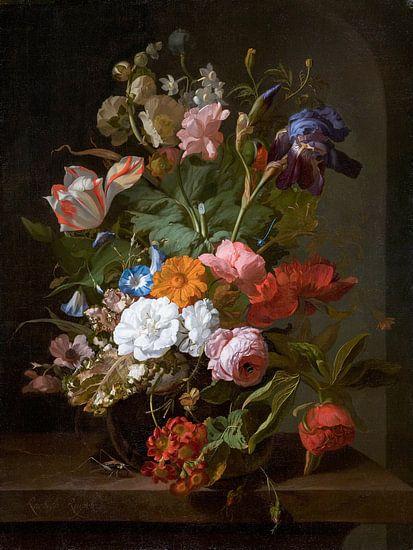 Vaas met bloemen, Rachel Ruysch