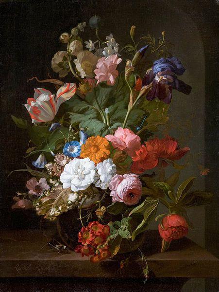 Vaas met bloemen, Rachel Ruysch van Hollandse Meesters
