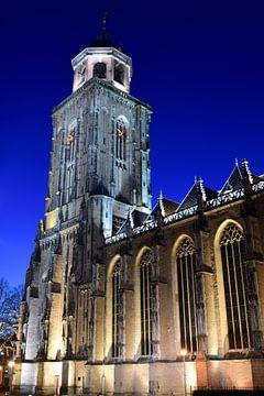 Toren van de Grote Kerk van Deventer van Gerard de Zwaan