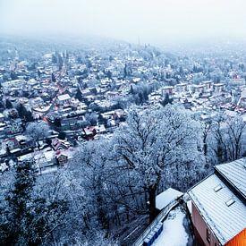Wernigerode im Winter van Oliver Henze