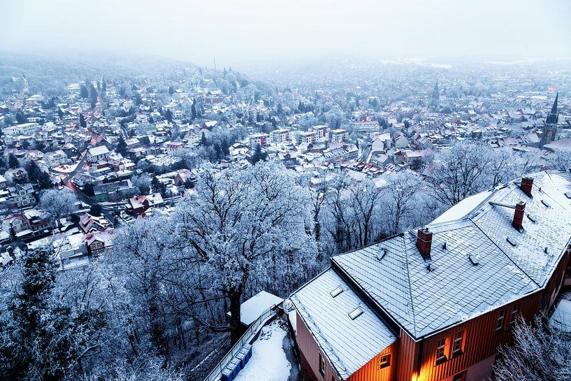 Wernigerode im Winter von Oliver Henze