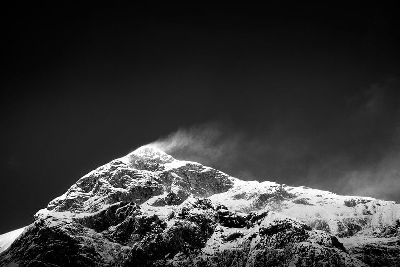 Snow Banner van Thomas Froemmel