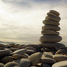 Stonetower Ardmair Point van Babetts Bildergalerie