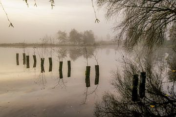 Oude zwembad Sassenheim van Dirk van Egmond