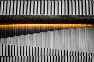Glow, Operahuis, Oslo, Noorwegen van Bao Vo
