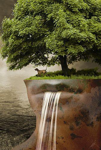 De waterval van