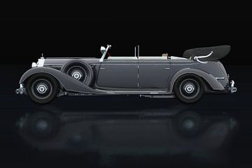 Mercedes 770-K Seitenansicht von Jan Keteleer