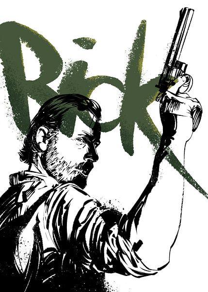 Rick Grimes von Nikita Abakumov