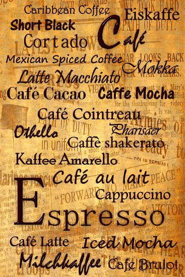 Kaffeehausausstattung 2 van Heike Hultsch