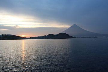 Mayon vulkaan - Legazpi, Bihol, Filiipijnen van Stefan Speelberg
