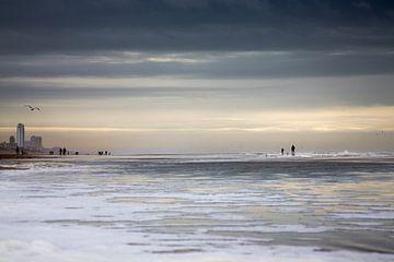 Strand bij Zandvoort aan Zee von Miranda Bruinsma