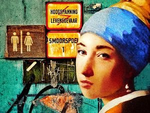 Het meisje met de parel van Ruben van Gogh