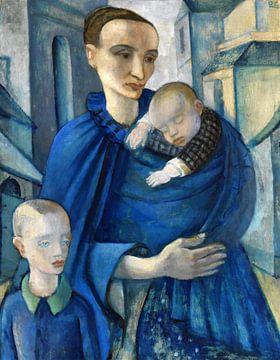 Blaue Frau, Anita Rée, Vor 1919