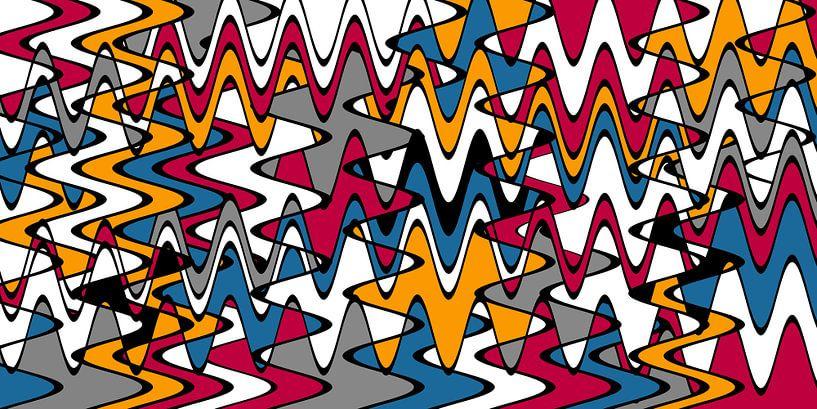 Wellenmuster von Marion Tenbergen
